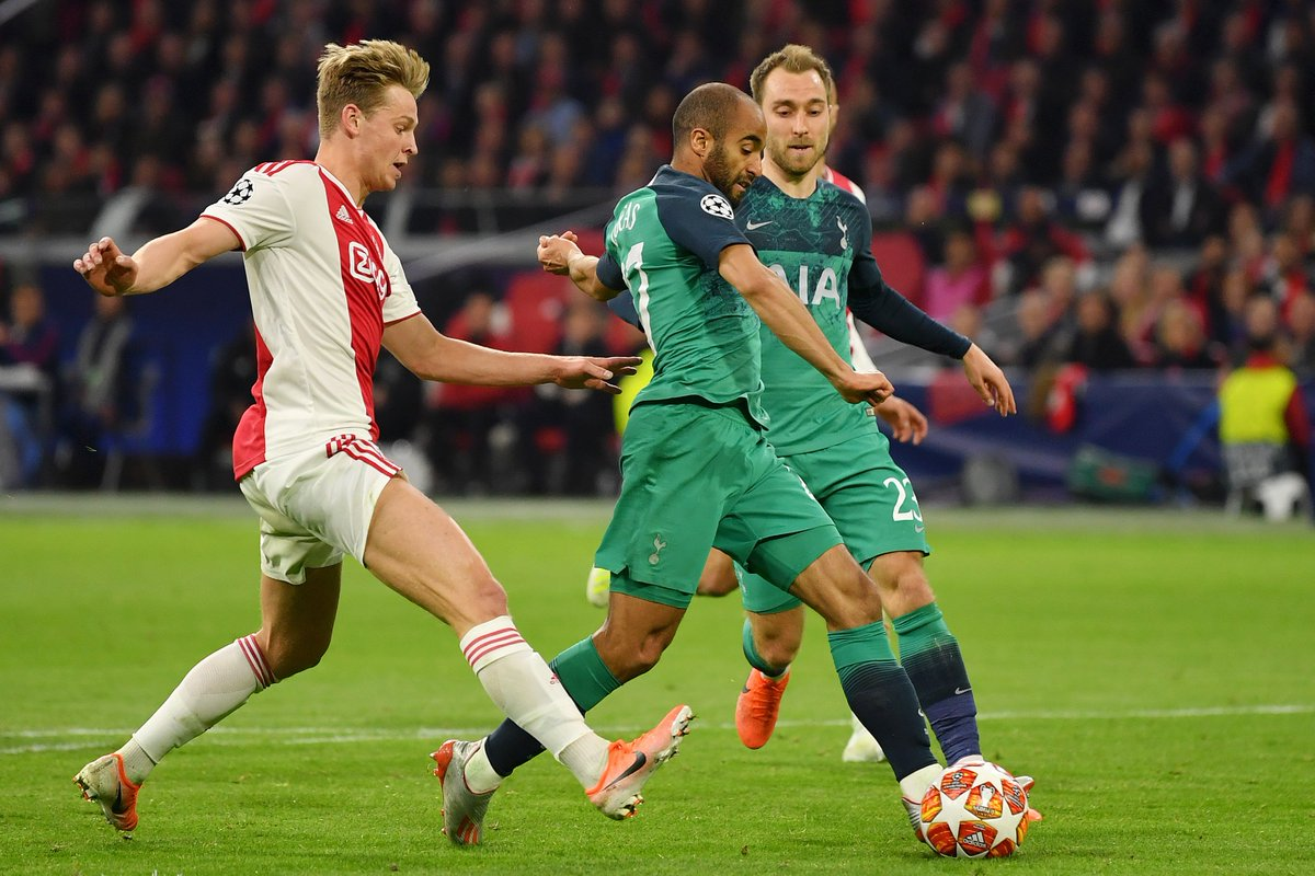 Xem lại Ajax vs Tottenham