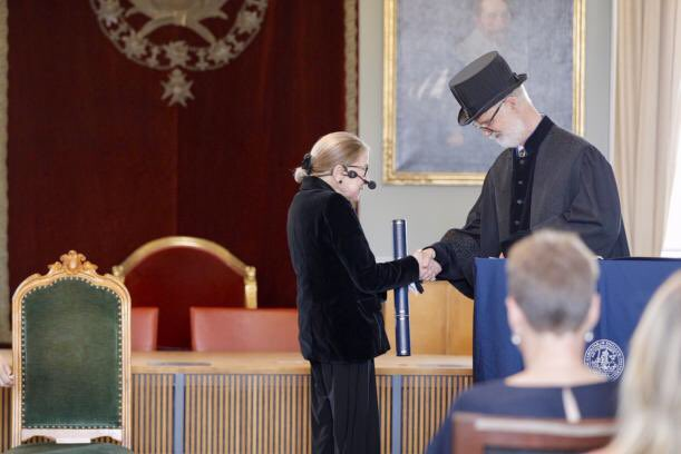 Ruth Bader Ginsburg receives @lunduniversity jubilee honorary doctorate: https://bit.ly/2PUVfao  #RBG #SCOTUS #SupremeCourt