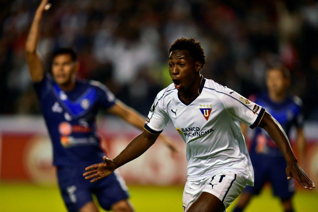 Liga de Quito 4 San Jose 0 - Copa Libertadores 2019 - Primera Ronda - Vídeo D6F-81VX4AEglVR?format=jpg&name=medium