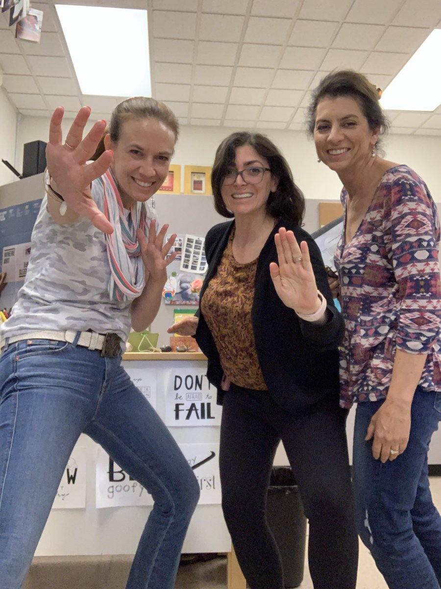 Worked with two awesome @LosGatosHigh Electives Champions today @mlechristie and Patricia Sutton. So happy to be able to help as #TOSA with your PD plan. I love being thought partners with these amazing women. #golgcats #LGSUHSD <br>http://pic.twitter.com/LtJ8twgnTN