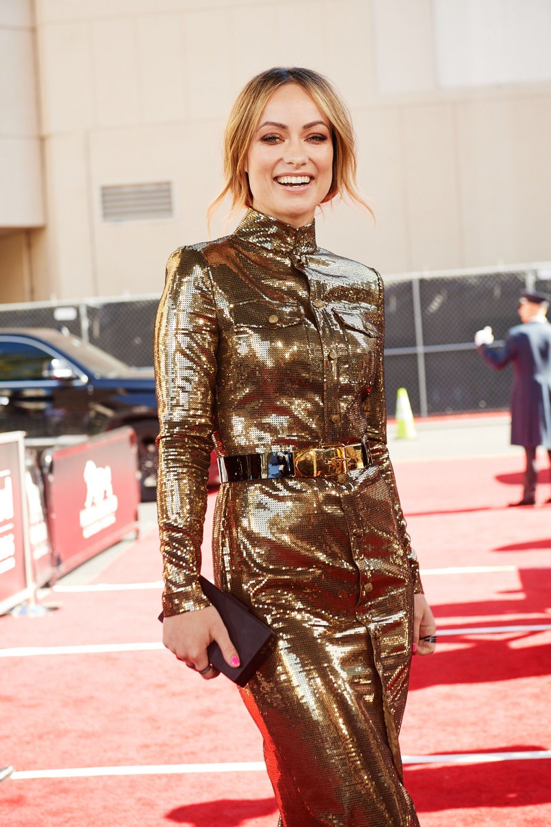 Going wild over @oliviawilde 🧡 #BBMAs