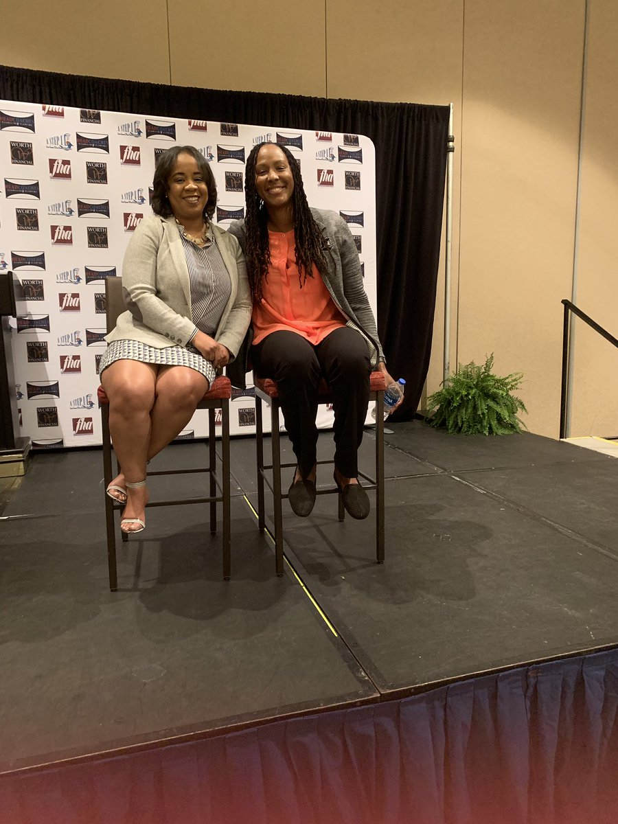 2019 is my year of being a #FanGirl       I got to present with this amazing, beauty, strong, and brave lady!!! @Chold1   @AStepUpFHA Truly honored!  #MentalHealthMatters #SportsBehavioralHealth #ILoveMyJob