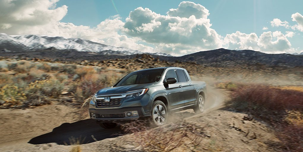 Kick up some dirt and accelerate into the weekend with the 2019 #HondaRidgeline.