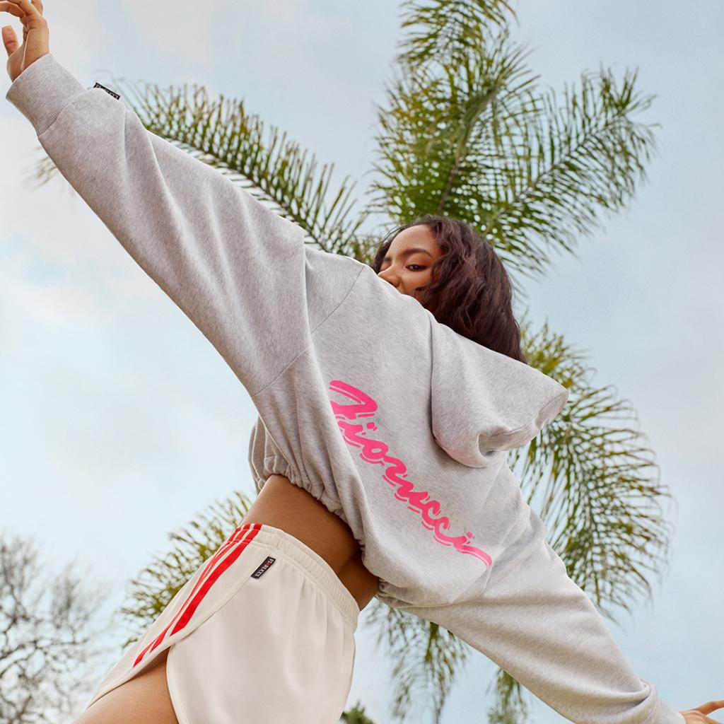 Inspired by summer. ☀️ Fiorucci graphics meet a playful collection of iconic adidas silhouettes.   Available May 10th at http://a.did.as/6011E9qqV