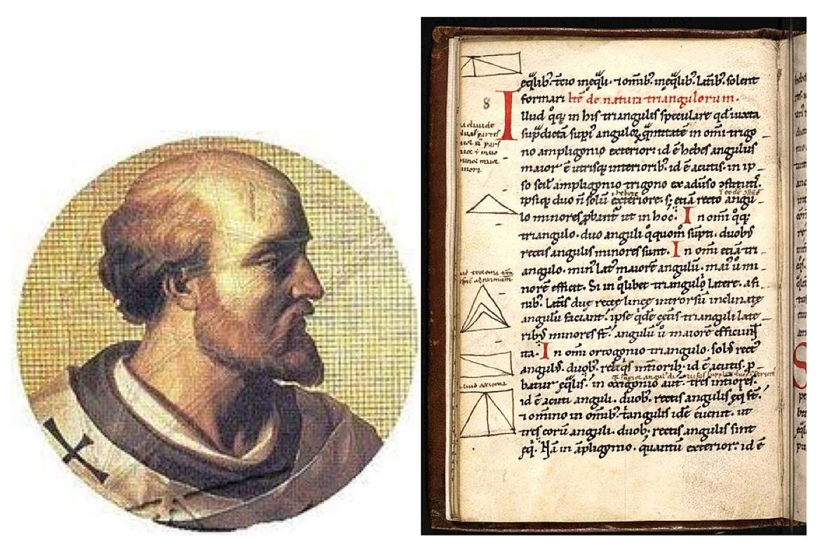 French mathematician and philosopher Gerbert of Aurillac