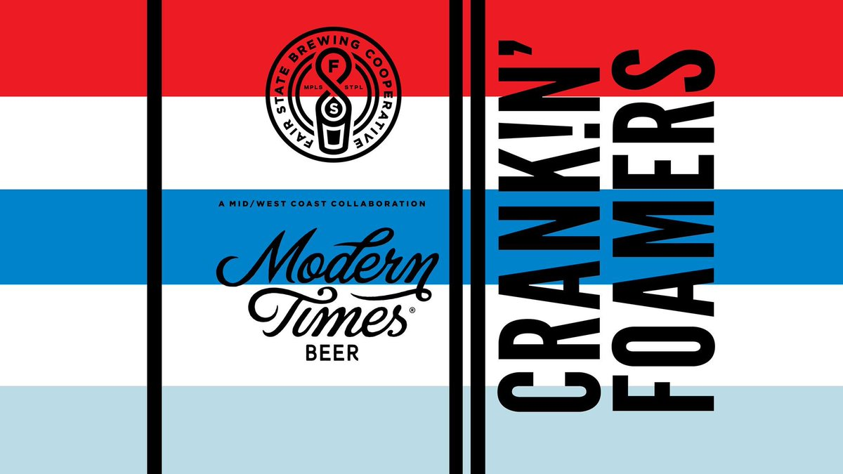 Image result for fair state modern times crank!n foamers