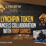 Image for the Tweet beginning: Lynchpin Token Cancels Collaboration with
