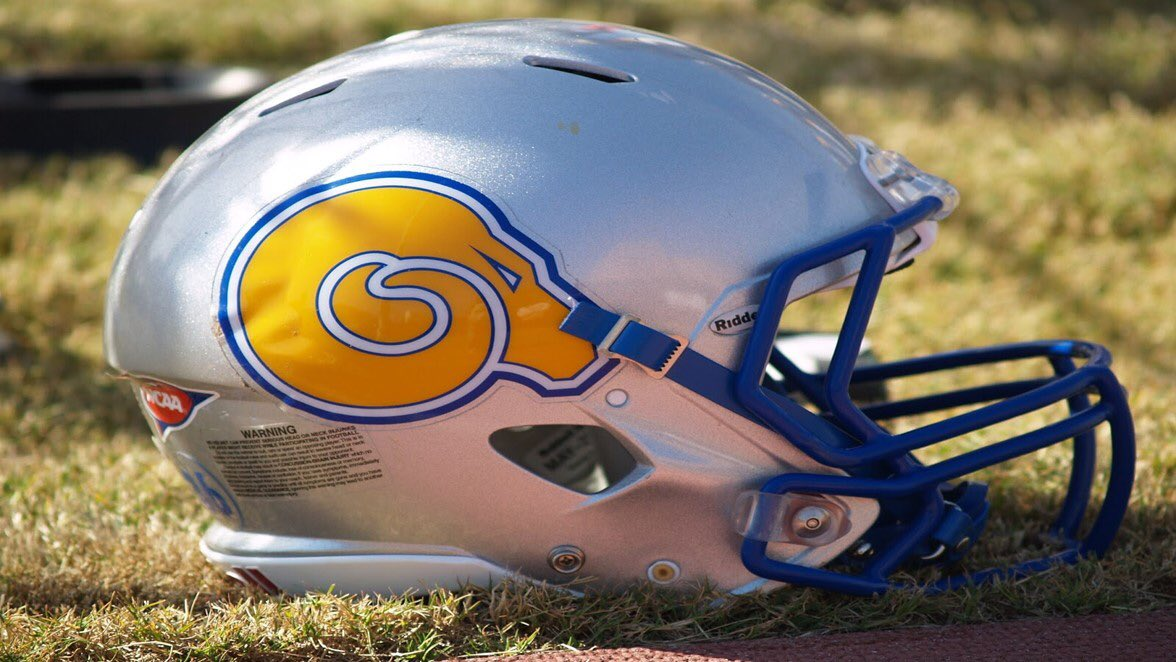 Thanks to @ASUGoldenRamsFB for coming to practice today to look at our guys 👀 #RAMRising #Feed1n9Time #beWARE #RecruitWare https://t.co/U9aPwO00kp
