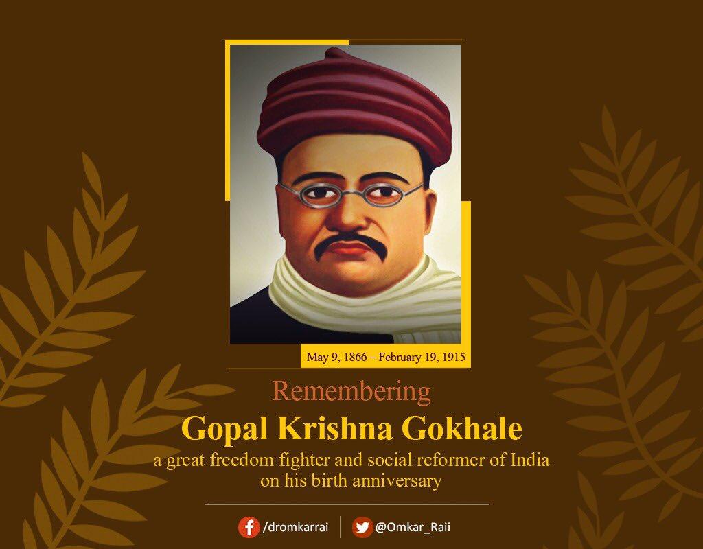 gopalkrishnagokhale hashtag on Twitter