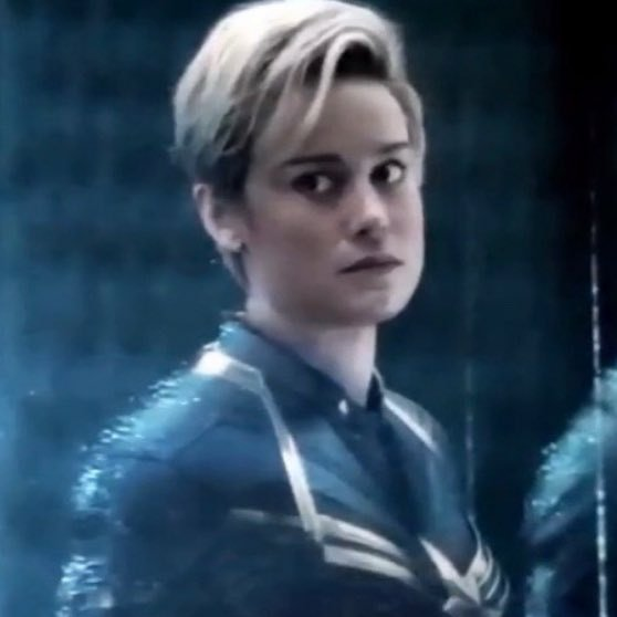 The Seven Miles Brie Larson Captain Marvel Short Hair