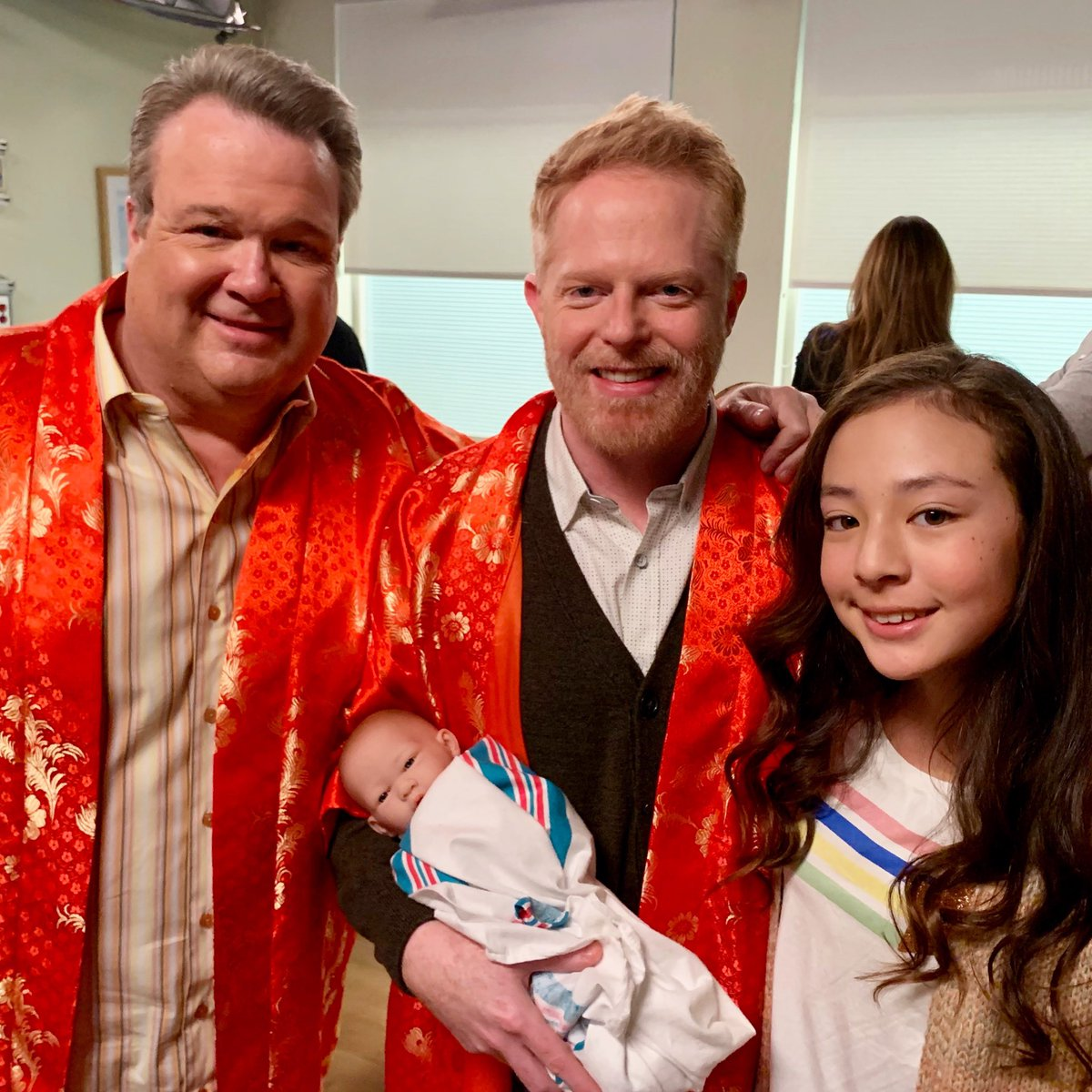 "A Modern Family modern family on twitter: ""two babies call for two uncles"