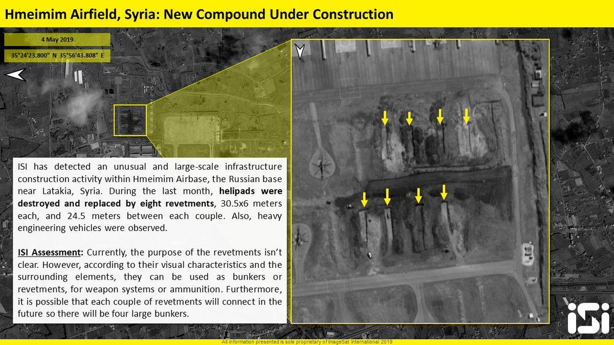 اخر عمليات البناء في قاعدة حميميم الجويه الروسيه في سوريا  D6GhxznW0AArqvZ
