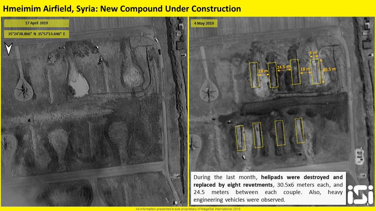 اخر عمليات البناء في قاعدة حميميم الجويه الروسيه في سوريا  D6GhzsEXsAAN_PL