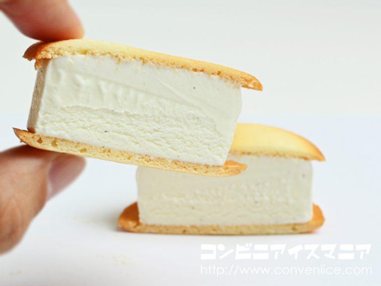新作!セブンのアイスクリーム。ヨックモックと共同開発のしっとりラングドシャアイスがおいしそう。