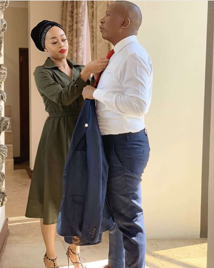 SA twitter president and his wife 😀😀 #ElectionResults