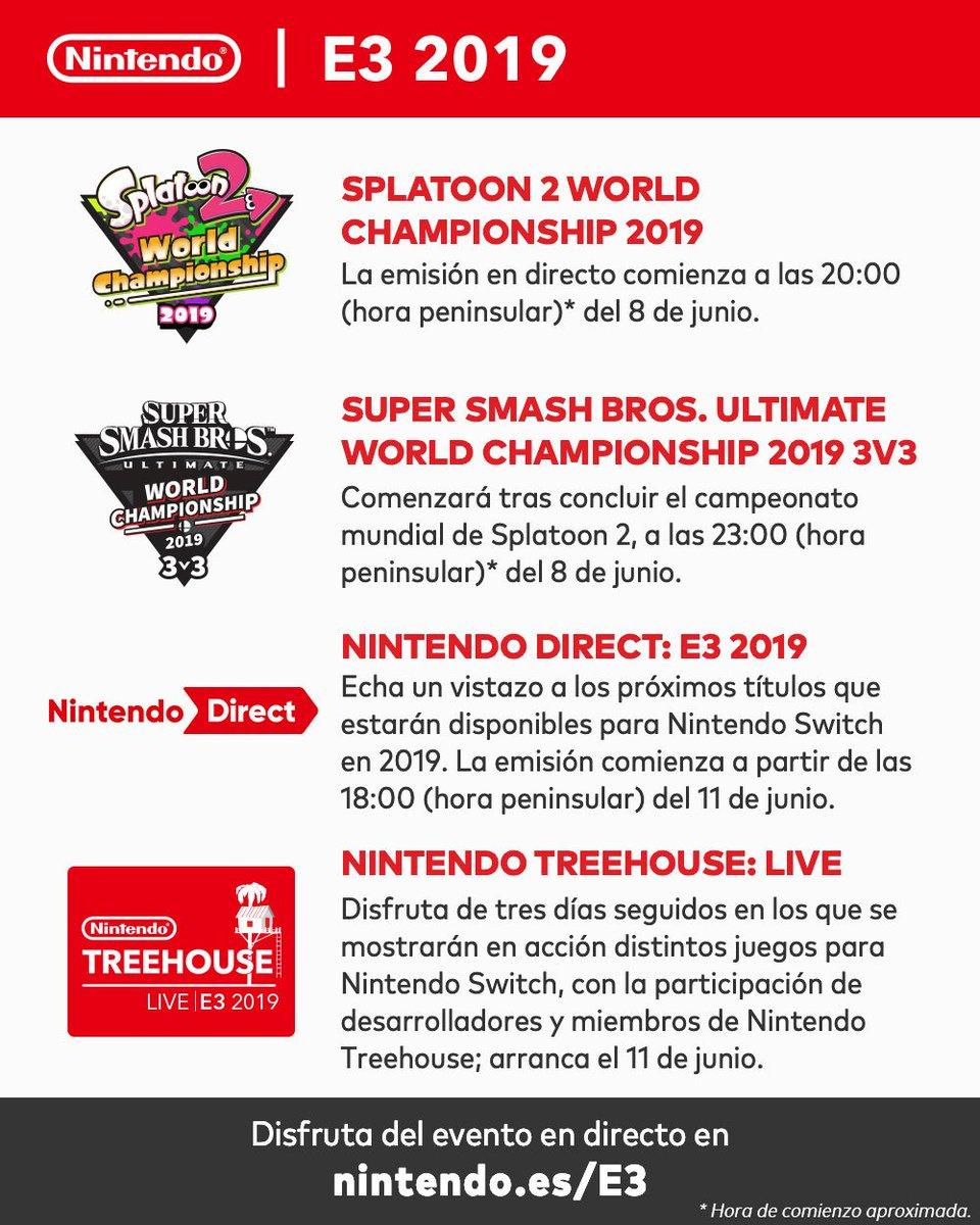 Nintendo confirma un Nintendo Direct, un Nintendo Treehouse: Live y