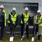 Image for the Tweet beginning: Ground breaking for @TrentUni
