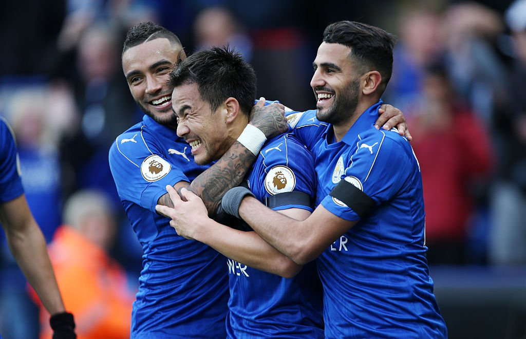 fc79c85b they leave the club as premier league winners leicester have announced danny  simpson and shinji okazaki