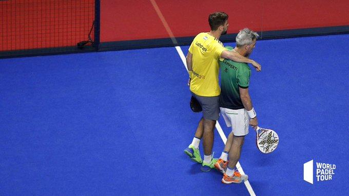 Miguel Lamperti y Lucho Capra vencieron en su partido de octavos del Vigo Open