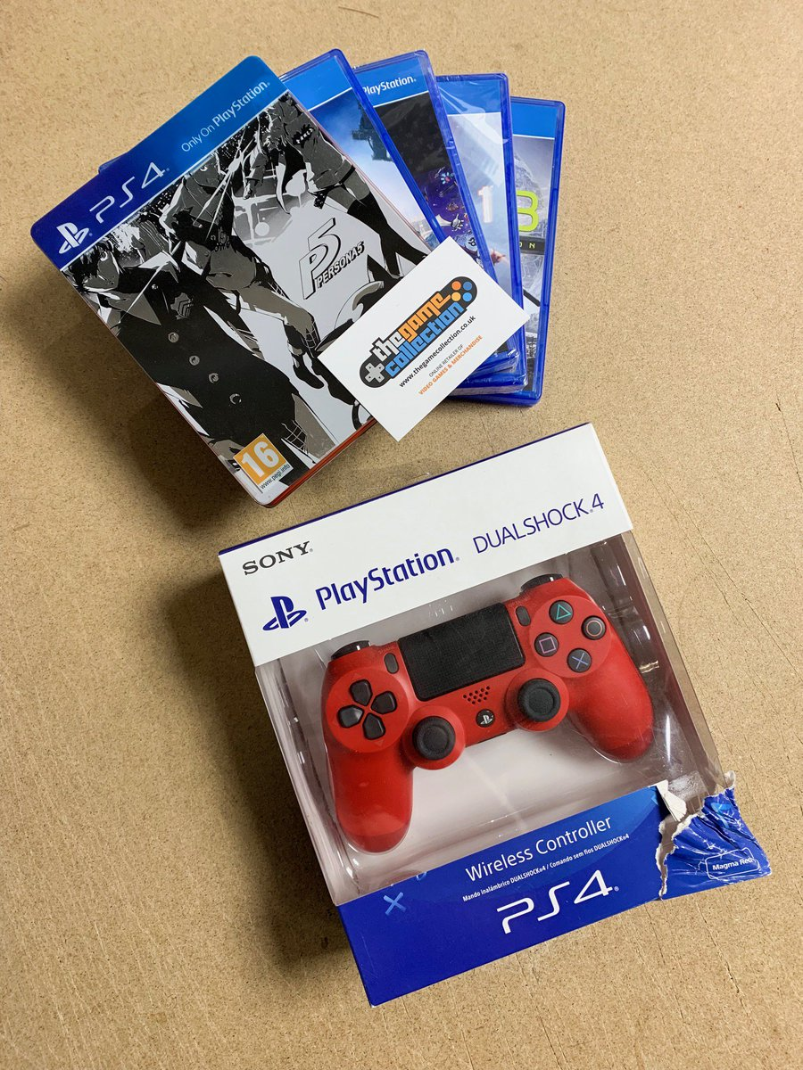 FOLLOW US & RETWEET to win a slightly damaged/pre-owned Playstation bundle including Red Controller & 5 games! (Persona 5 - Steelbook, The Surge, Battlefield 1, Sniper Ghost Warrior 3 & Kingdom Hearts HD I.5 + II.5 Remix). Winner announced on MONDAY 13/5/19 @ 3pm! #denteddelights