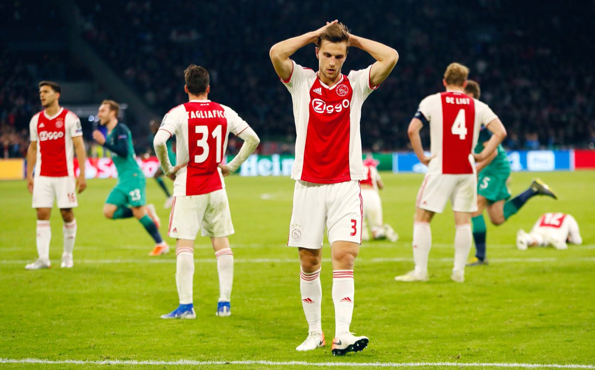 What a nightmare last night, but our season isn't over yet. Two more matches to go. #Ajax https://t.co/dUGn6yx1iP