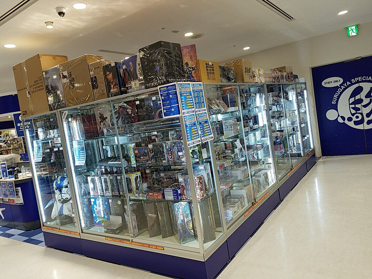 4f4c3adc9a1a2 2日間の店休ではご不便をおかけいたしました! 駿河屋新宿マルイアネックス店は大幅に進化してリニューアルオープン!!!!  フィギュア、ゲームなどこれまで以上に ...