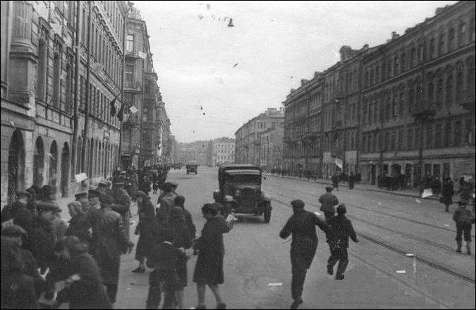 Картинки невский проспект ленинграда 1945-1950 гг