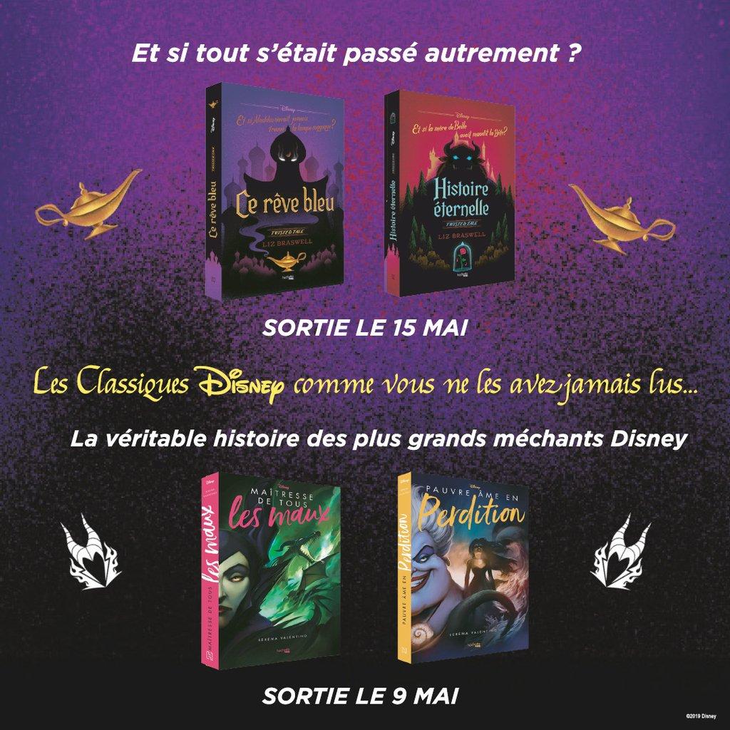 Deux Nouvelles Series De Romans Autour De L Univers Disney A