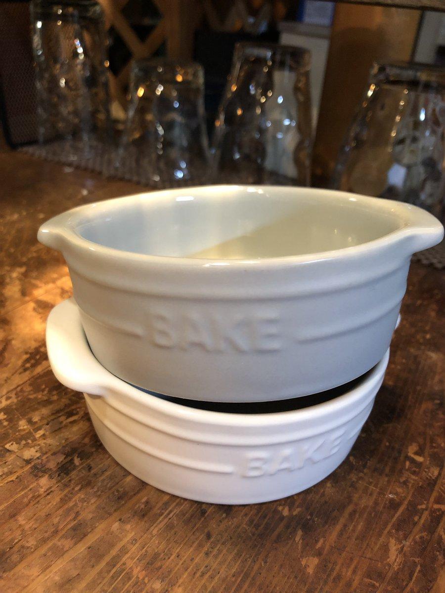 test ツイッターメディア - セリアパトロール中一目惚れした小さなグラタン皿❤️ 黒もあったけど、グラタンにした時美味しそうに見えるかな〜?と思って、ホワイトとグレーのみ買ってきました!このシリーズ他にもかわいいのあって欲しいけど、しまう所がもうない(笑) #セリア #グラタン皿 #100均 https://t.co/1LeiMu3qTt