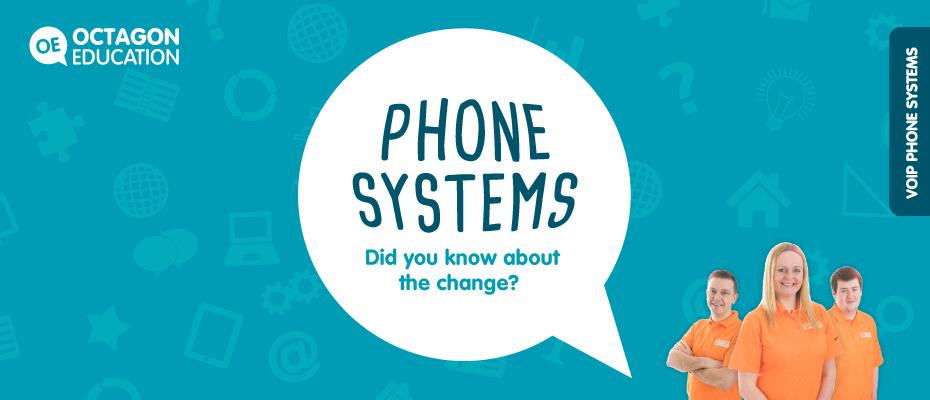 If you haven't already heard, in 2020 BT will start its programme to #switchofftraditionalanalogue phone networks. Your school will need to be prepared by changing to a #newphonesystem, such as #VoIP. More: https://www.octagoneducation.co.uk/single-post/2019/05/09/Did-you-know-about-the-upcoming-switch-from-traditional-analogue-to-VoIP-phone-systems… #VoIPphonesystem #OctagonEducation #phonesystemspic.twitter.com/k3H66h4Jtl