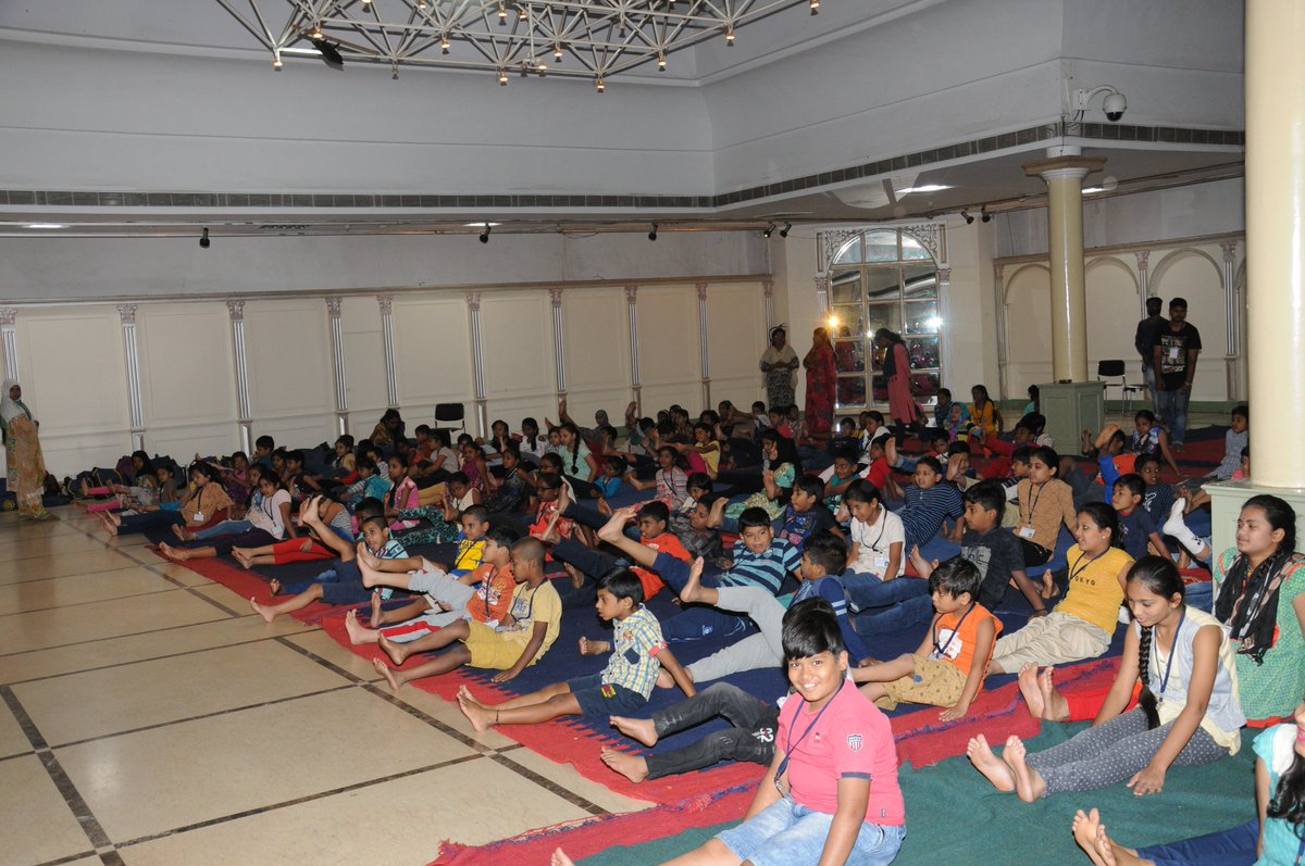 Summer Art Camp 2019 -9th May 2019 Yoga and art followed by a lecture on Butterflies by Sri. Tej Kumar, Butterfly Conservation Society, Domalguda, Hyderabad