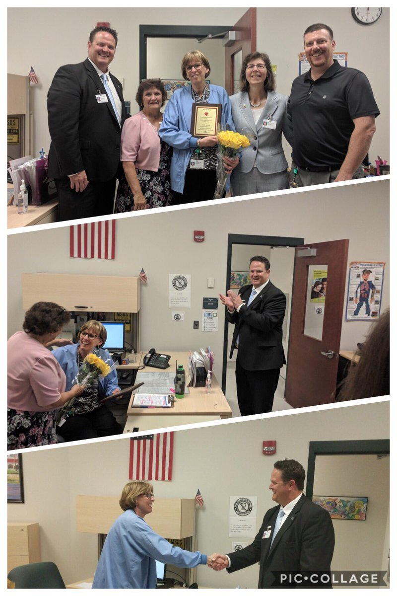 Big congratulations to Anne James at VB Middle for being named the 2019 School Nurse of the Year by the @vbschools nurses association! #SchoolNursesDay #studentwellness @VBMSPrincipal<br>http://pic.twitter.com/2Z7EtAiYAX