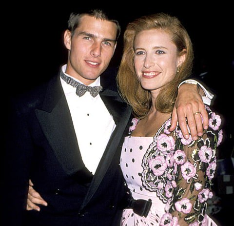 Old School 80s On Twitter May 9 1987 Tom Cruise Married Mimi Rogers 80s They Separated In 1989 Had Divorce Finalized In 1990