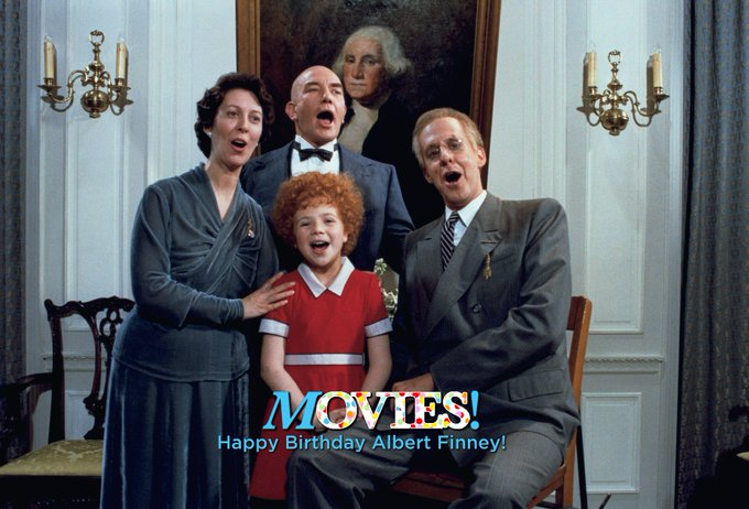Happy Birthday Albert Finney!  Remember what song they\re singing in this scene?