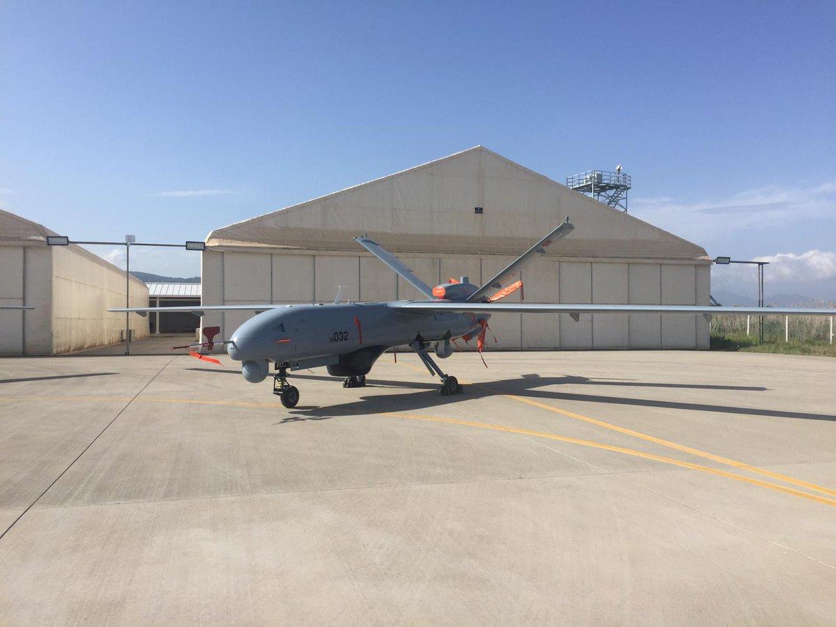 تركيا تزوّد طائرات المسيرة Anka  برادارت محلية D6IB-qqWsAEi17U