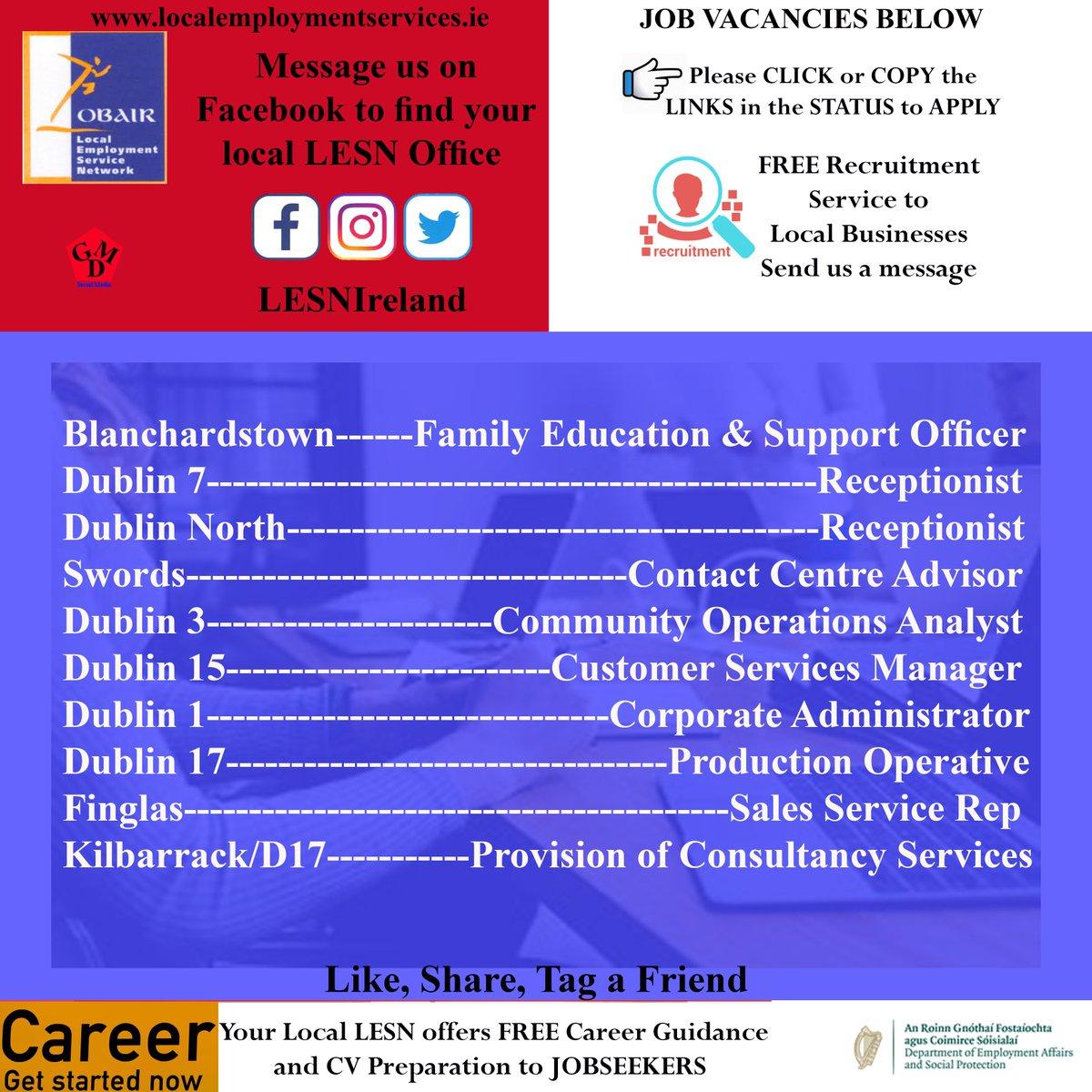 LocalEmploymentService (@LESNIreland)   Twitter