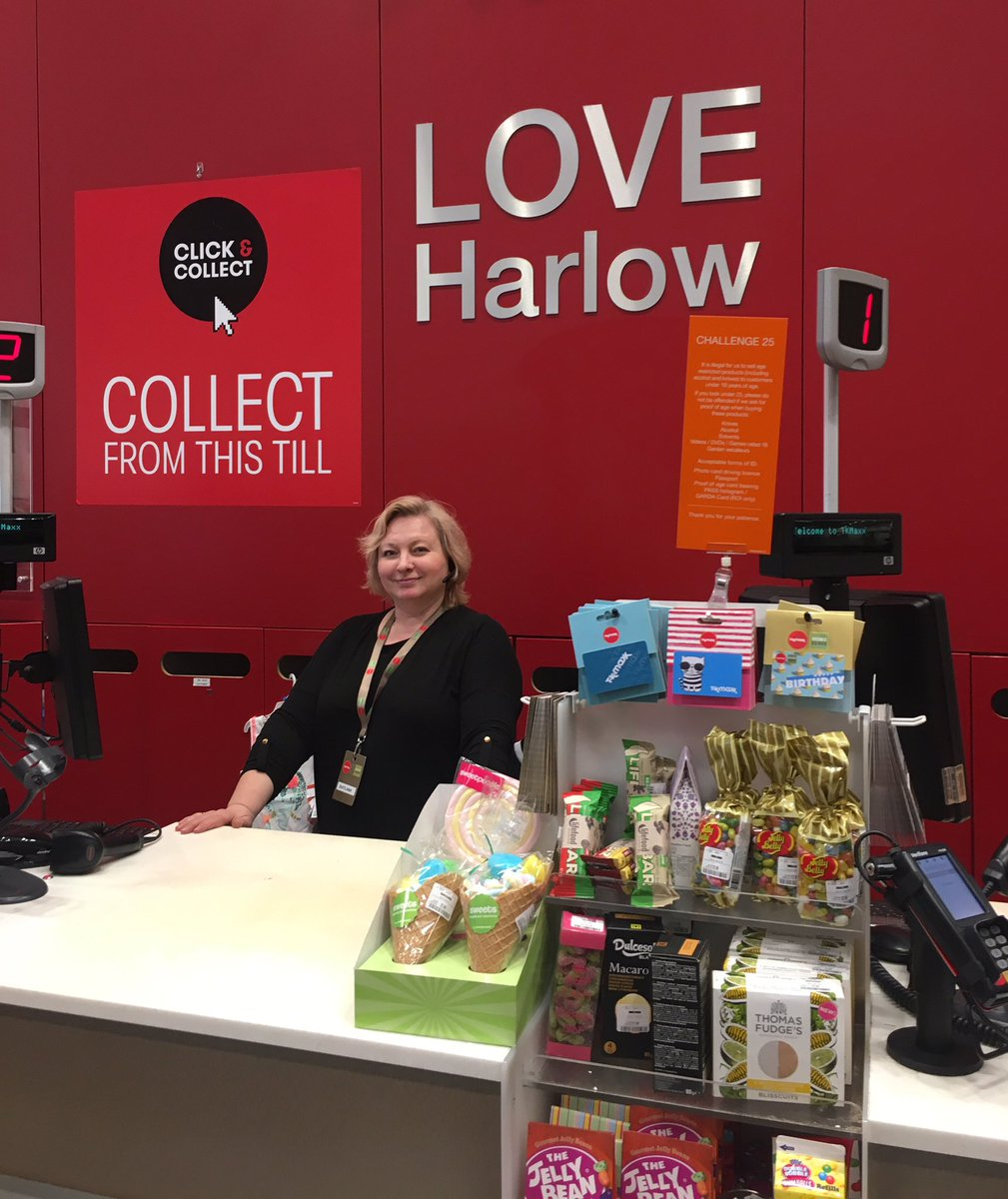 🎤Looking forward to hearing @GoWaterGardens speak at our Harlow Ambassador event on the 23 May. Harlow has a great selection of shops which attract visitors from miles around, that's why like @TKMaxx_UK below they #loveharlow ❤️ And we love having you here guys 🛍👍