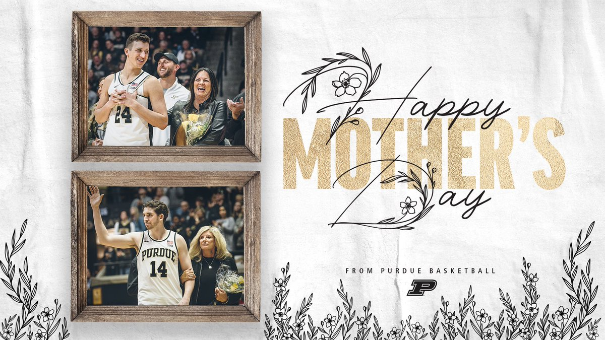 🌷 #HappyMothersDay from our family to yours.  #BoilerUp 🚂