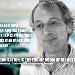 Image for the Tweet beginning: Rainer Prosi @CIP4org is one