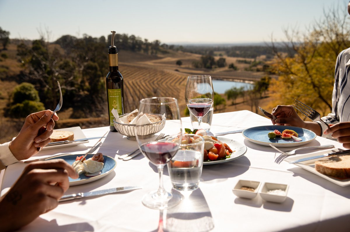 Explore New South Wales for incredible views and even better wine. Just a two-hour drive north of Sydney, Hunter Valley is home to some of the most delectable wines in the world #swaindestinations #huntervalley