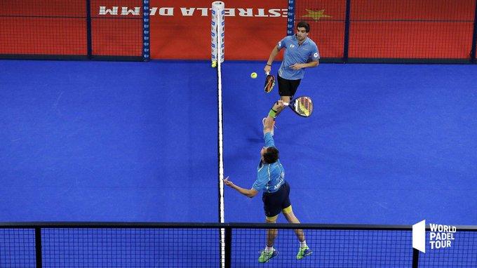 Paquito Navarro y Juan Lebrón lograron la victoria en los octavos del Vigo Open