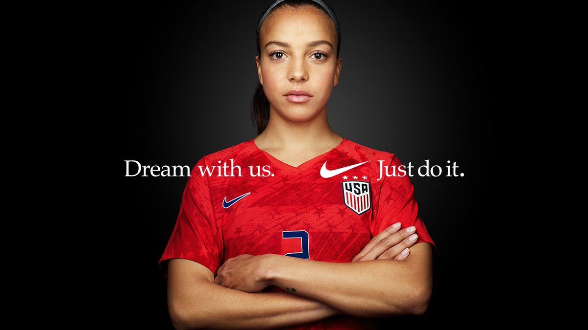 Having a dream won't change the world. Sharing one will. #justdoit🇺🇸