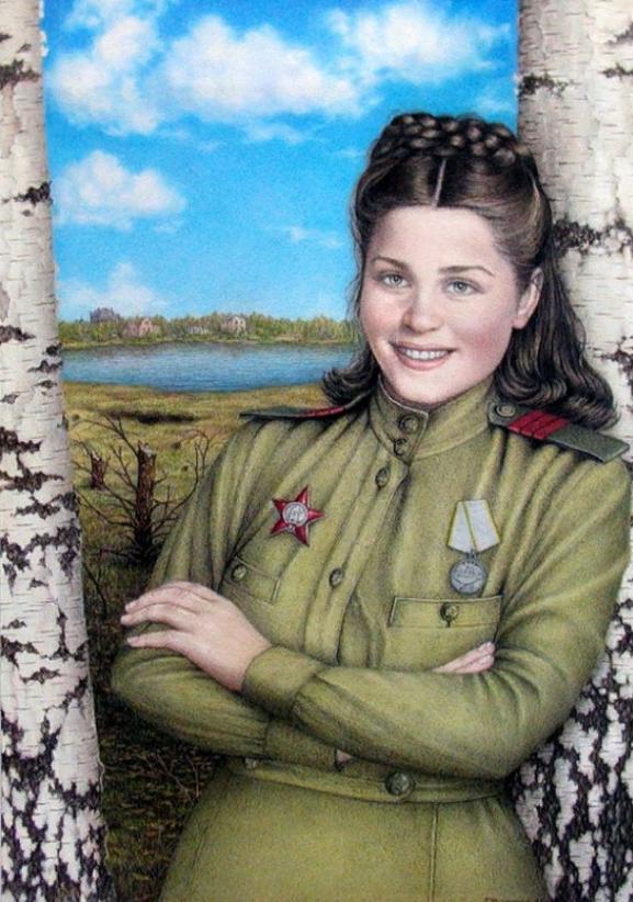 Художника елизаветы, открытка с днем победы 45 года