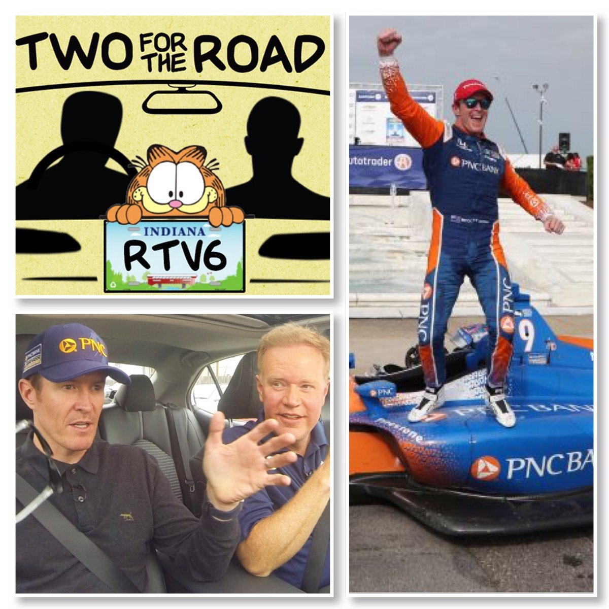 ICYMI: Official launch of a campy, new #Trackside6 segment: Two for the Road. 5-time #IndyCar series champ, @scottdixon9 leads us off. Gingers unite! 🤣 [WATCH] facebook.com/16310504704925…