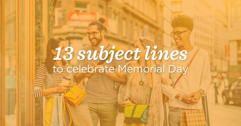 Kick off summer the right way with these #MemorialDay email subject lines https://t.co/gWiOKujZ3I https://t.co/WKQaxXSbc7