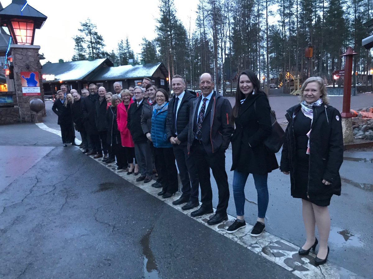 The #AEC #AnnualMeeting successfully completed in #Rovaniemi! Thank you for joining us - safe travels!