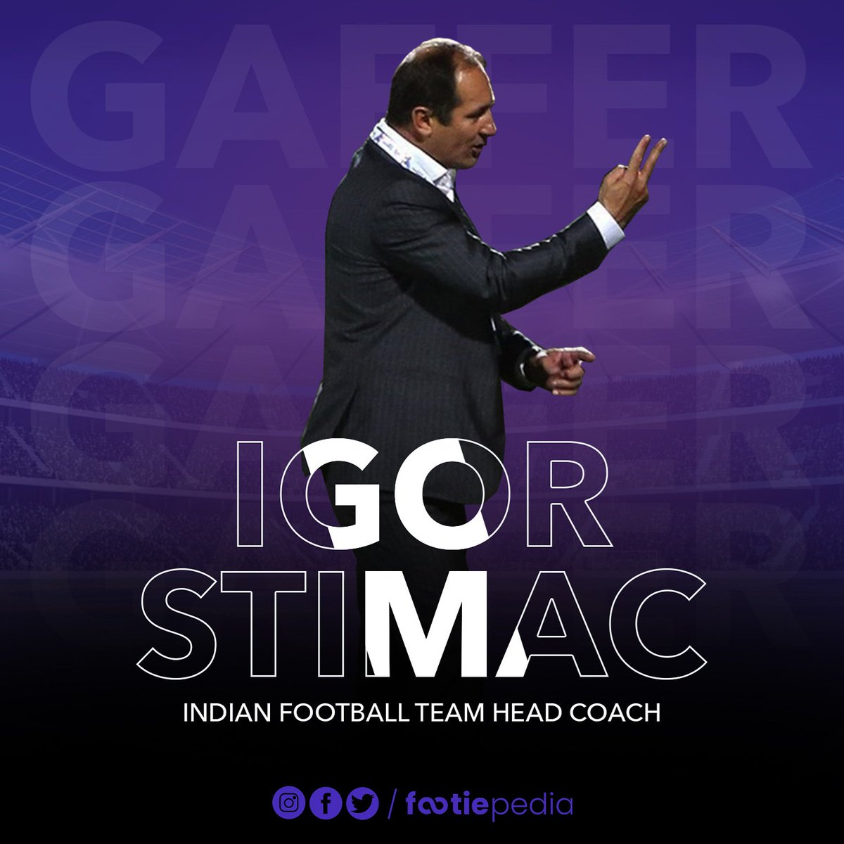 New chapter in @IndianFootball as Igor Stimac is all set to become the first Croatian to take over as head coachof Indian National Football Team! 🙌  #IndianFootball #BackTheBlue #BlueTigers