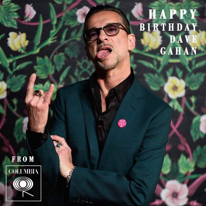 Happy birthday Dave Gahan Depeche Mode