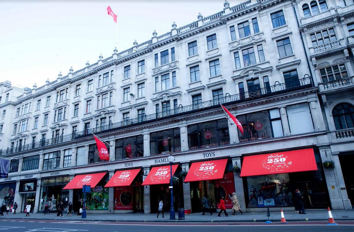 Reliance Brands Limited Marks Its International Foray With Acquisition Of British Toy Retailer Hamleys