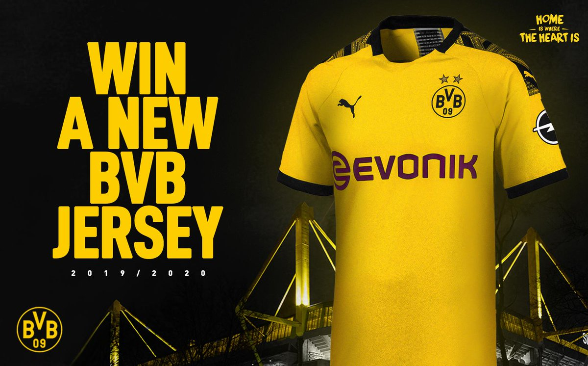 🚨 NEW KIT GIVEAWAY 🚨  To celebrate the release of our 2019/2020 Home Kit we're giving away a brand new shirt to one lucky fan! 🔥  Rules to enter: 1⃣ Follow @BlackYellow 2⃣ Retweet & like this tweet!